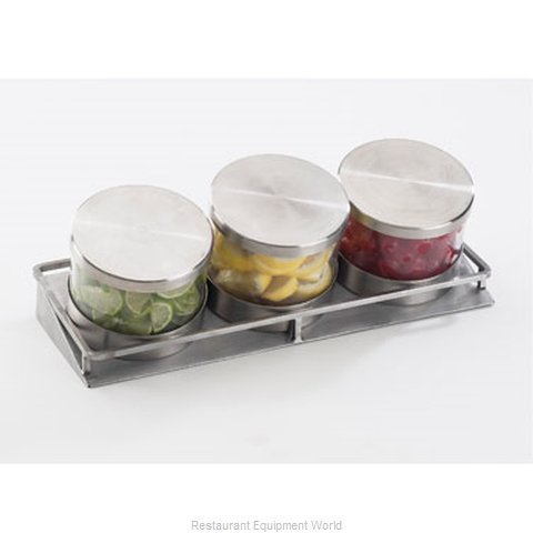 Cal-Mil Plastics 1850-2-55 Condiment Caddy Tabletop Rack