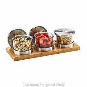 Cal-Mil Plastics 1850-4-60 Bar Condiment Server, Countertop