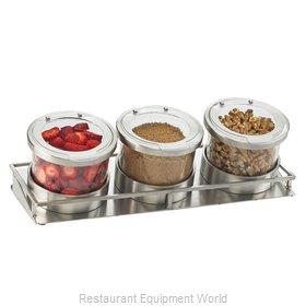 Cal-Mil Plastics 1850-5-55HL Bar Condiment Server, Countertop