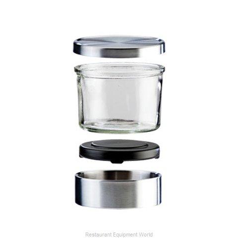 Cal-Mil Plastics 1851-4HL Storage Jar / Ingredient Canister, Metal