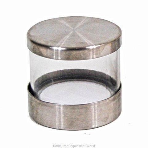 Cal-Mil Plastics 1851-4JAR Storage Jar / Ingredient Canister, Glass