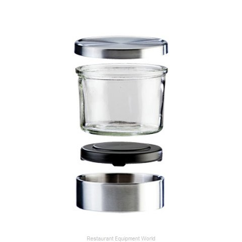 Cal-Mil Plastics 1851-5 Storage Jar / Ingredient Canister, Glass
