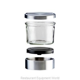 Cal-Mil Plastics 1851-5 Storage Jar / Ingredient Canister, Glass