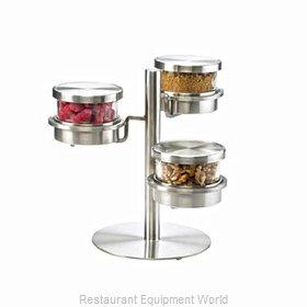 Cal-Mil Plastics 1855-5-55HL Bar Condiment Server, Countertop