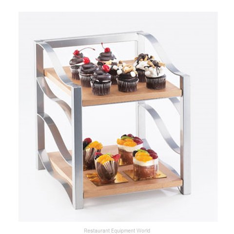 Cal-Mil Plastics 2023-98 Decorative Display Shelf Tray