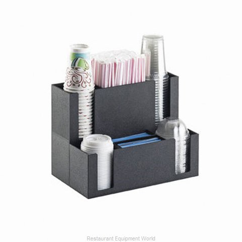 Cal-Mil Plastics 2041 Condiment Caddy, Countertop Organizer (Magnified)