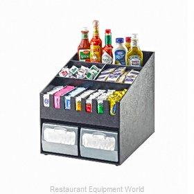 Cal-Mil Plastics 2044 Condiment Caddy, Countertop Organizer