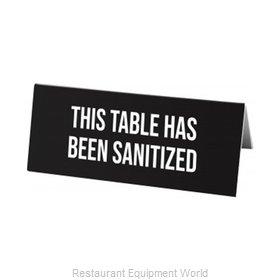 Cal-Mil Plastics 22139-62 Tabletop Sign, Tent / Card