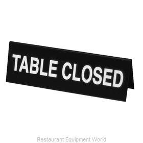 Cal-Mil Plastics 22163-62 Tabletop Sign, Tent / Card