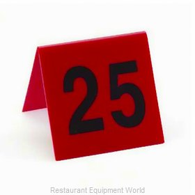 Cal-Mil Plastics 226-2 Tabletop Sign, Tent / Number
