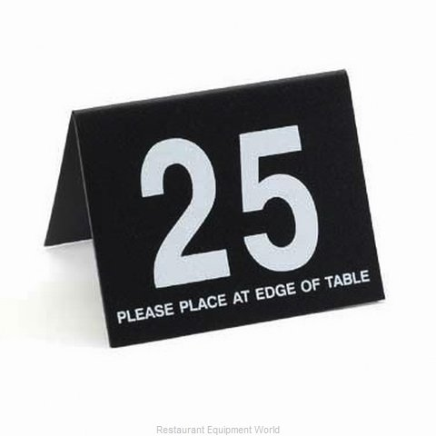 Cal-Mil Plastics 234-13 Tabletop Sign, Tent / Number