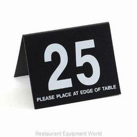 Cal-Mil Plastics 234-13 Tabletop Sign, Tent / Number