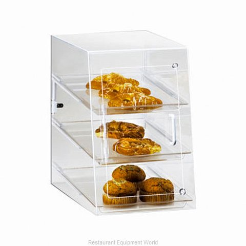 Cal-Mil Plastics 241-S Display Case Pastry Countertop Clear