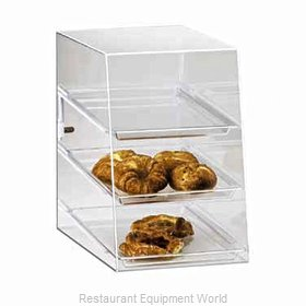 Cal-Mil Plastics 241 Display Case Pastry Countertop Clear