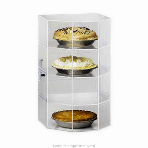 Cal-Mil Plastics 252 Display Case Pastry Countertop Clear