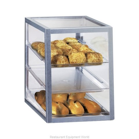 Cal-Mil Plastics 253 Display Case Pastry Countertop Clear
