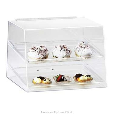 Cal-Mil Plastics 254 Display Case Pastry Countertop Clear