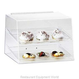 Cal-Mil Plastics 254 Display Case, Pastry, Countertop (Clear)