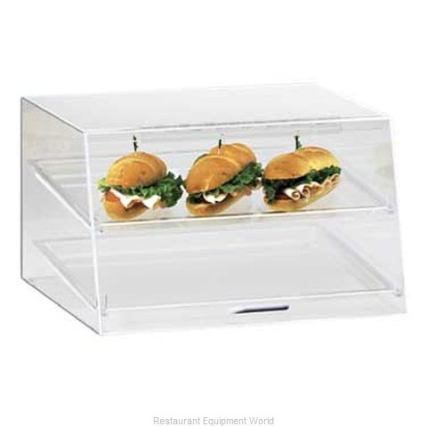 Cal-Mil Plastics 255-S Display Case Pastry Countertop Clear