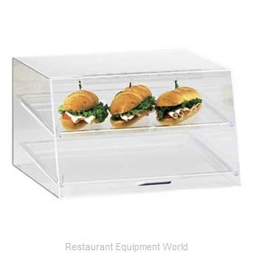 Cal-Mil Plastics 255-S Display Case, Pastry, Countertop (Clear)