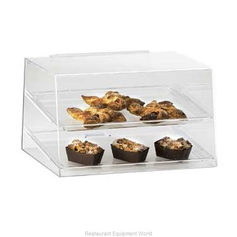 Cal-Mil Plastics 255 Display Case, Pastry, Countertop (Clear)
