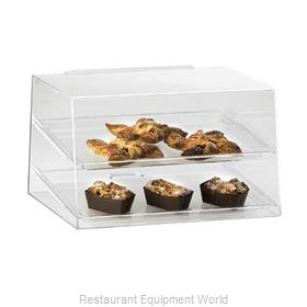 Cal-Mil Plastics 255 Display Case Pastry Countertop Clear