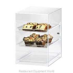 Cal-Mil Plastics 257 Display Case Pastry Countertop Clear