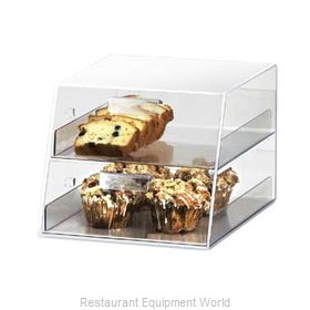 Cal-Mil Plastics 258 Display Case Pastry Countertop Clear