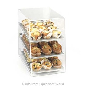 Cal-Mil Plastics 260-M Display Case Pastry Countertop Clear