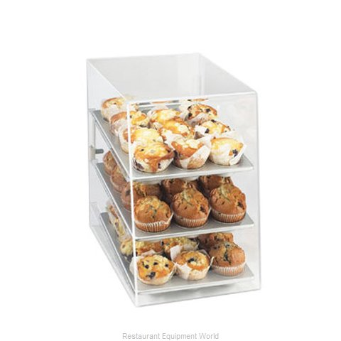 Cal-Mil Plastics 260 Display Case, Pastry, Countertop (Clear)