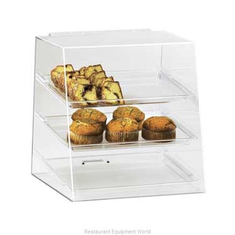 Cal-Mil Plastics 261 Display Case Pastry Countertop Clear