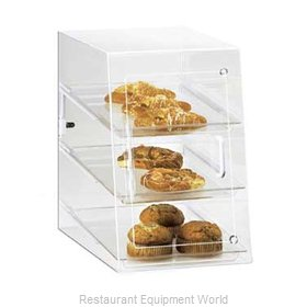 Cal-Mil Plastics 263-S Display Case Pastry Countertop Clear