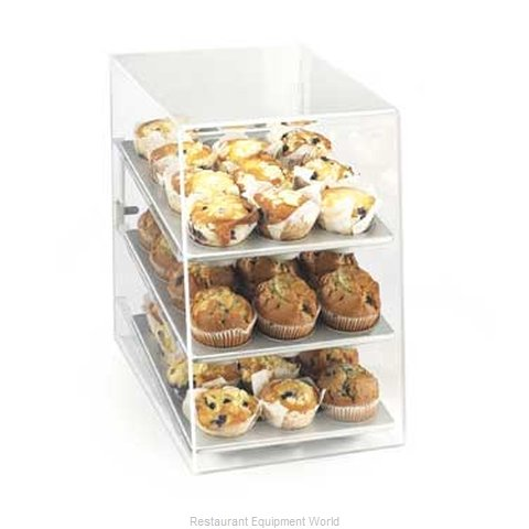Cal-Mil Plastics 263-SM Display Case Pastry Countertop Clear