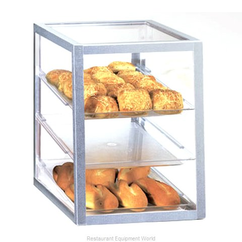 Cal-Mil Plastics 268 Display Case Pastry Countertop Clear