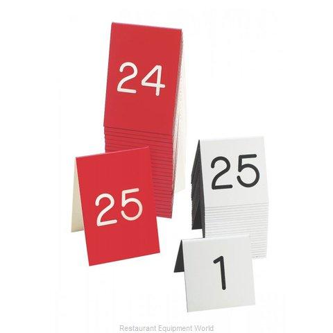 Cal-Mil Plastics 271A-2 Tabletop Sign, Tent / Number