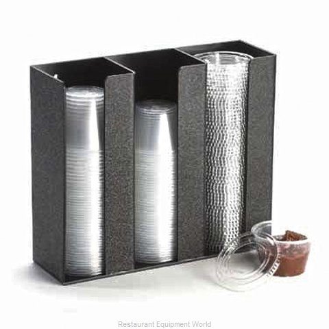 Cal-Mil Plastics 278-3 Cup & Lid Organizer (Magnified)
