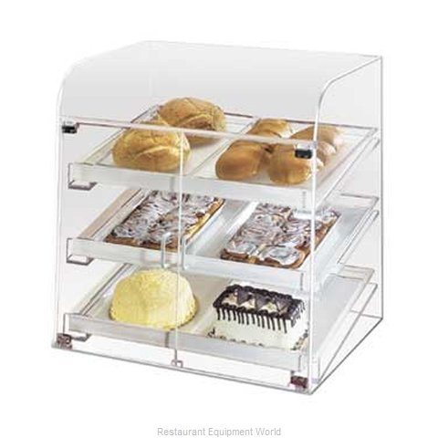 Cal-Mil Plastics 288 Display Case Pastry Countertop Clear
