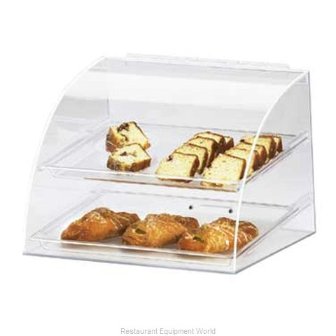 Cal-Mil Plastics 289 Display Case, Pastry, Countertop (Clear)