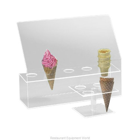 Cal-Mil Plastics 297 Cone Holder (Magnified)
