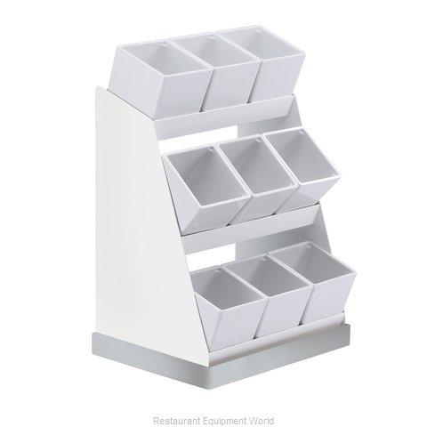 Cal-Mil Plastics 3018-55-15 Condiment Caddy, Countertop Organizer