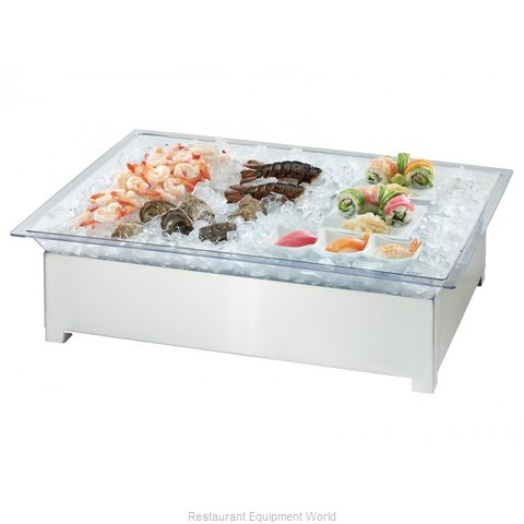 Cal-Mil Plastics 3033-55 Ice Display Tray, Decorative