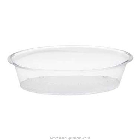 Cal-Mil Plastics 316-15 Tray Display (Magnified)