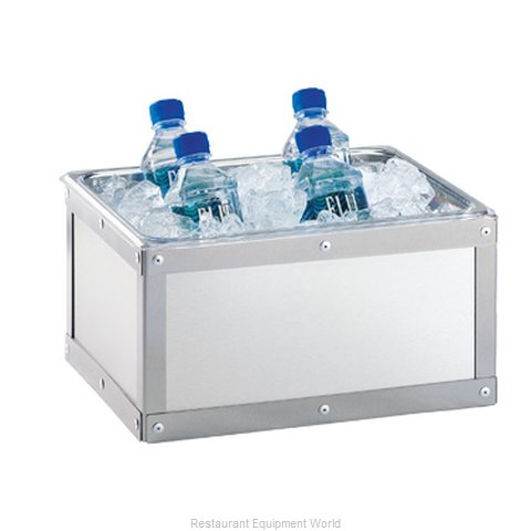 Cal-Mil Plastics 3395-10-55 Ice Display Tray, Decorative