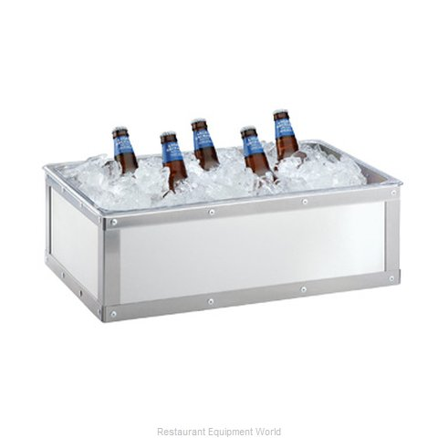 Cal-Mil Plastics 3395-12-55 Ice Display Tray, Decorative