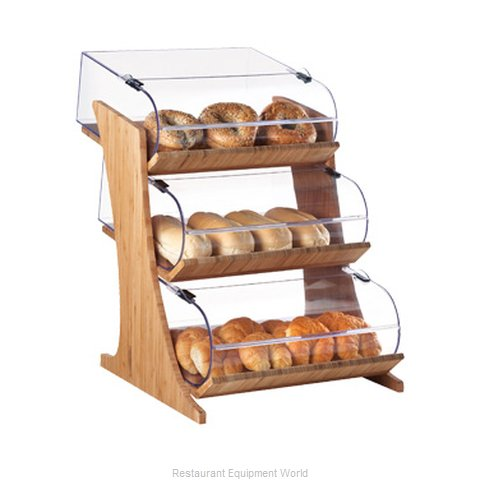 Cal-Mil Plastics 3397-3-60 Display Case, Pastry, Countertop (Clear)