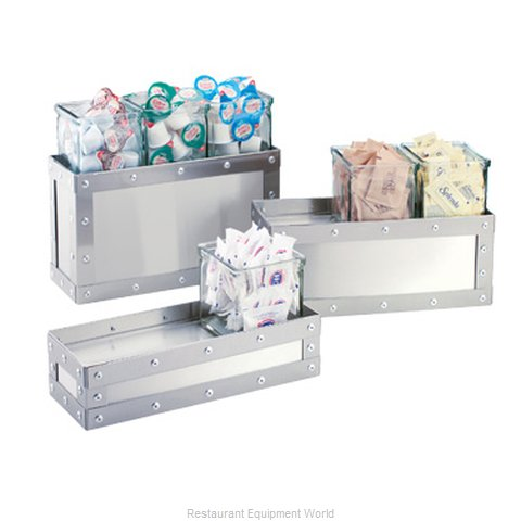 Cal-Mil Plastics 3412-7-55 Condiment Caddy, Countertop Organizer