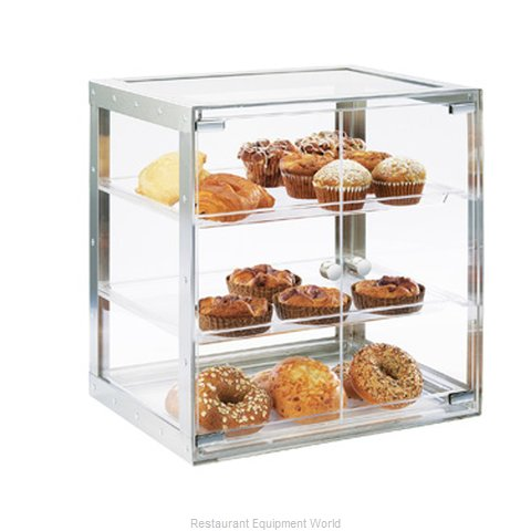 Cal-Mil Plastics 3413-55 Display Case, Pastry, Countertop (Clear)