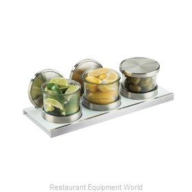 Cal-Mil Plastics 3492-4-15HL Storage Jar / Ingredient Canister, Glass
