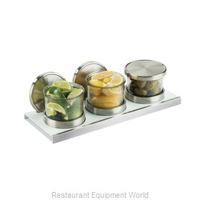 Cal-Mil Plastics 3492-4-15NL Storage Jar / Ingredient Canister, Glass