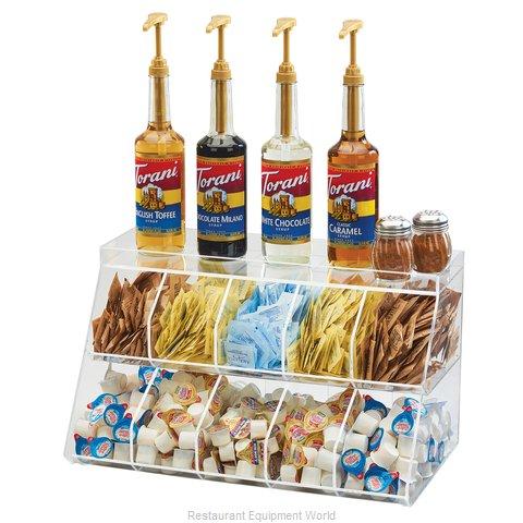 Cal-Mil Plastics 3643-10 Condiment Caddy, Countertop Organizer